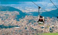 Quito City Sightseeing Tour Including Teleférico Cable Car Ride and Volcano Hike image 1