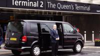 Central London Hotels Departures Shared Ride Service to Heathrow Airport