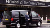 Heathrow Airport Arrival Shared Ride Service to Central London Hotels