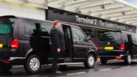 Private Departure Transfer: Central London to Gatwick Airport