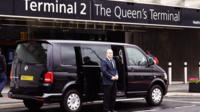 Private Departure Transfer: Central London to Heathrow Airport