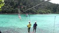 The Coral Flyer Zipline Adventure at Tunku Abdul Rahman Park from Kota Kinabalu