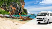 Krabi Town to Railay beach by Longtail boat(Pickup from your hotel)