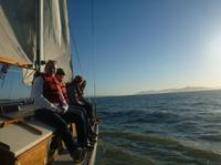 Private Bay Area Sunset Sailing Adventure from Berkeley