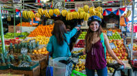 Santiago Local Life and Markets Bike Tour