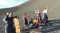 Cerro Negro and Volcano Sand Boarding from León