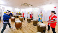 Japanese Traditional Taiko Drum Experience in Osaka