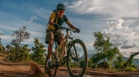 Sunset Mountain Biking Tour on Lake Atitlán