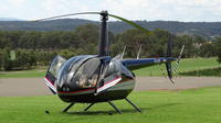 3-Hour Hunter Valley Scenic Helicopter Tour Including 3-Course Lunch from Cessnock