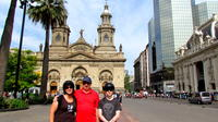 Full-Day Bike Tour of Santiago with Small-Group and Lunch