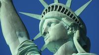 New York City Double Decker Bus and Statue of Liberty Walking Tour Combo