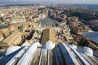 Complete St Peters Basilica Tour with Dome Climb and Crypt