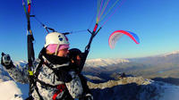 Coronet Peak Tandem Paragliding In Winter, Queenstown Hang Gliding