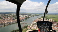 Private panoramic helicopter tour of Macon - Southern Burgundy