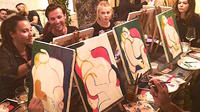 Evening Paint and Sip with tour in the Heart of Rome