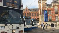 Amsterdam City Walking Tour by Public Transport