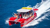 Whitehaven Beach and Hill Inlet Lookout Full-Day Snokeling Cruise by High-Speed Catamaran