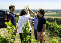 Small Group Full day Tour to the Champagne Region with Champagne Tastings from Reims