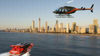 Gold Coast Ocean Jet Thrill Ride and Helicopter Tour