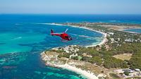 Private Rottnest Island Helicopter Tour from Jandakot Airport Private Car Transfers