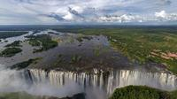Sunset Cycle and Guided Walk to Victoria Falls