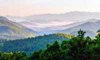 Blue Ridge Parkway, Waterfalls and Hiking Tour