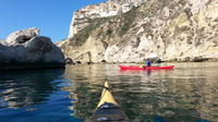 Kayak and Trekking Tour at Devil's Saddle from Cagliari