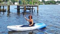 Half-Hour Single Kayak Rental in Daytona Beach