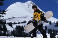 Junior Snowboard Rental Package from Jackson Hole