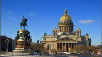 St. Petersburg Half-Day City Tour Including Walking Tour to Peter and Paul Fortress