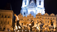 Guided Night Time Bike Ride in Prague