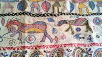Private Kantha Stitch Painting Tour in Kolkata