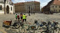 3-Hour Private Zagreb Biking Tour with Local Artisan Shopping