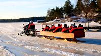 Private Snowmobile Tour in Helsinki Archipelago Including Lunch