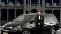 Private Mini Van Car Service From Honolulu Airport to Waikiki Hotels Private Car Transfers