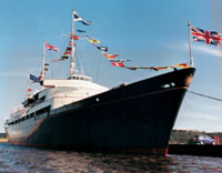 The Royal Yacht...
