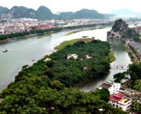Guilin Full Day Tour including Fubo Hill, Reed Flute Cave, Elephant Hill and Seven Star Park