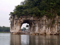 Guilin Half Day Tour including Li River, Reed Flute Cave and Elephant Hill