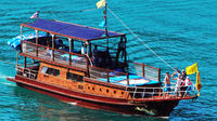 Private Charter: The Blue Dragon Classic Thai Yacht 62ft to Ang Thong Marine Park