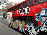 Hop-on-Hop-off-Tour durch Madrid
