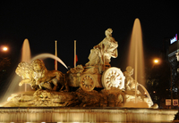 Madrid Illuminations Evening Tour