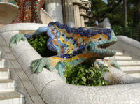 Skip the Line Guided Walking Tour: Gaudi's Park Guell in Barcelona
