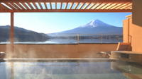 Mt. Fuji, Yamanakako Onsen Experience, and Outlets Shopping Day Trip from Tokyo