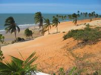 Lagoinha Beach from Fortaleza