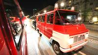Evening Warsaw City Tour in Communist Fire Van