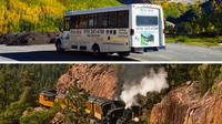 Bus to Silverton and Train to Durango Full-Day Experience