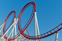 Six Flags Magic Mountain Tagesausflug von Los Angeles