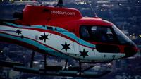 30 Minute Chicago Helicopter Tour at Night With Fireworks Show