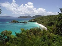 St. John and Snorkeling at Trunk Bay