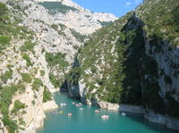 Private Verdon Gorge, Castellane and Moustiers Day Trip from Cannes